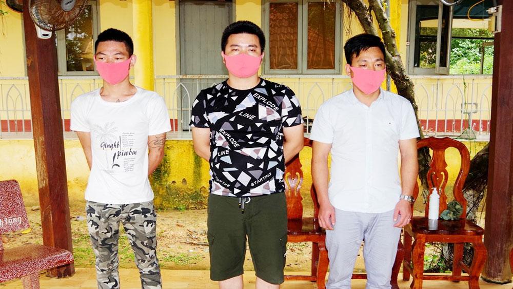 Truy tìm, 3 người Trung Quốc, nhập cảnh trái phép , bỏ trốn , khu cách ly