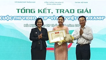 Winner of video clip contest on environmental protection announced