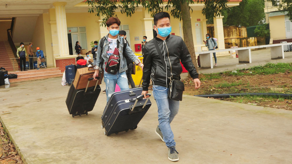 Bac Giang province, Covid-19 prevention and control, quarantine areas, spreading pathogens to community, Covid-19 pandemic