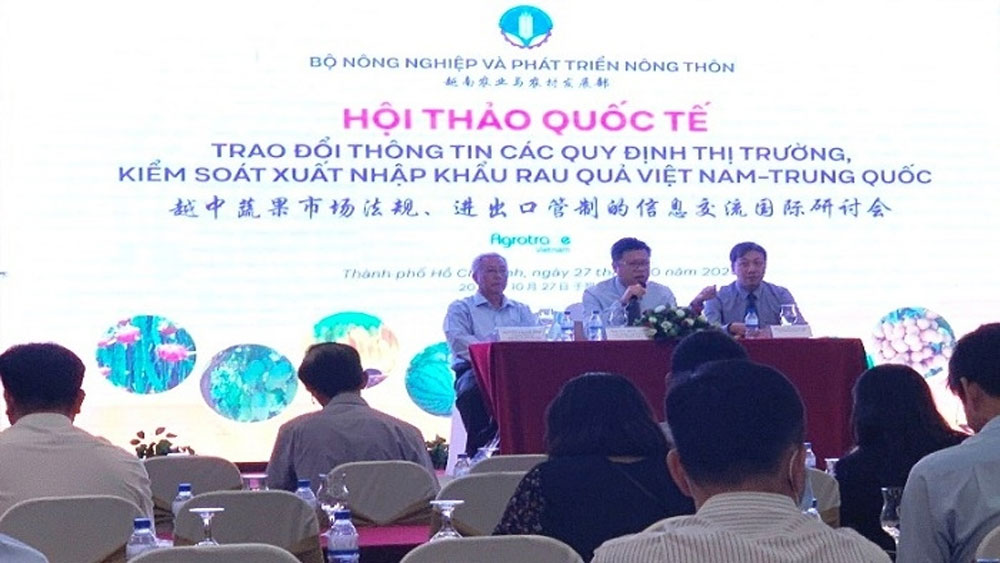 Vietnam-China agro product trade hits over US$9.8 billion in nine months