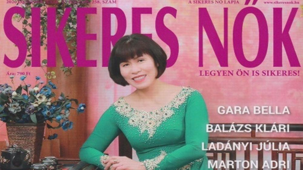 Hungarian magazine features Vietnamese businesswoman for success