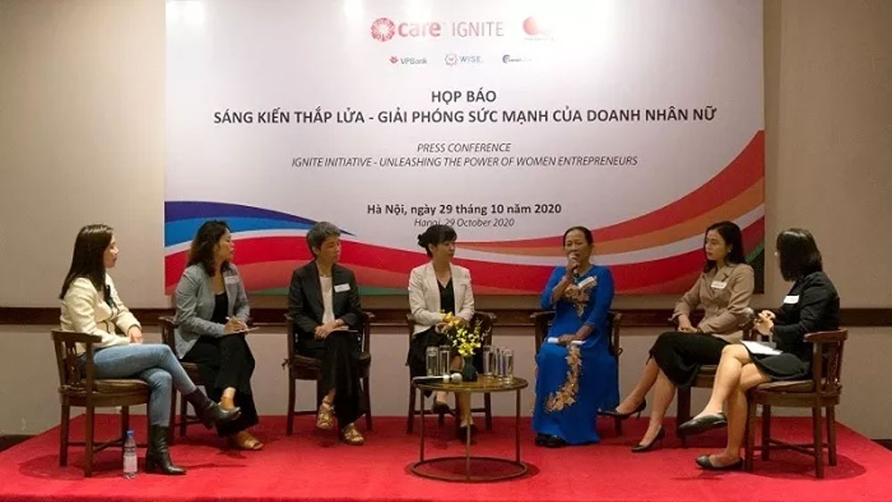 50,000 Vietnamese female entrepreneurs, get support, Ignite Initiative, major role, Vietnamese economy, financial and non-financial services