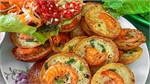 One-cent shrimp pancakes sizzle up HCMC street food scene