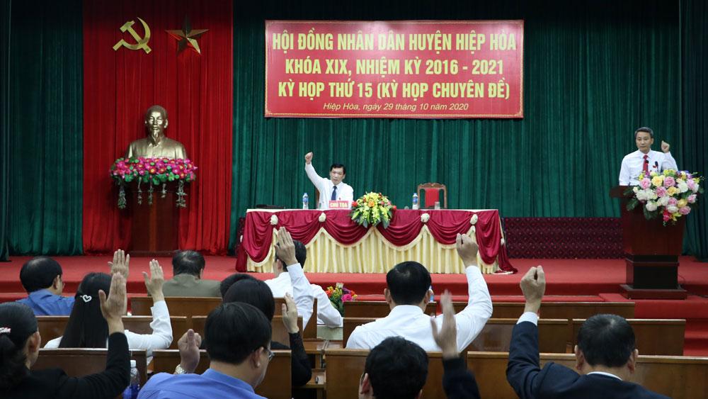 HĐND huyện Hiệp Hòa thông qua nghị quyết về chủ trương thành lập thị trấn Bắc Lý