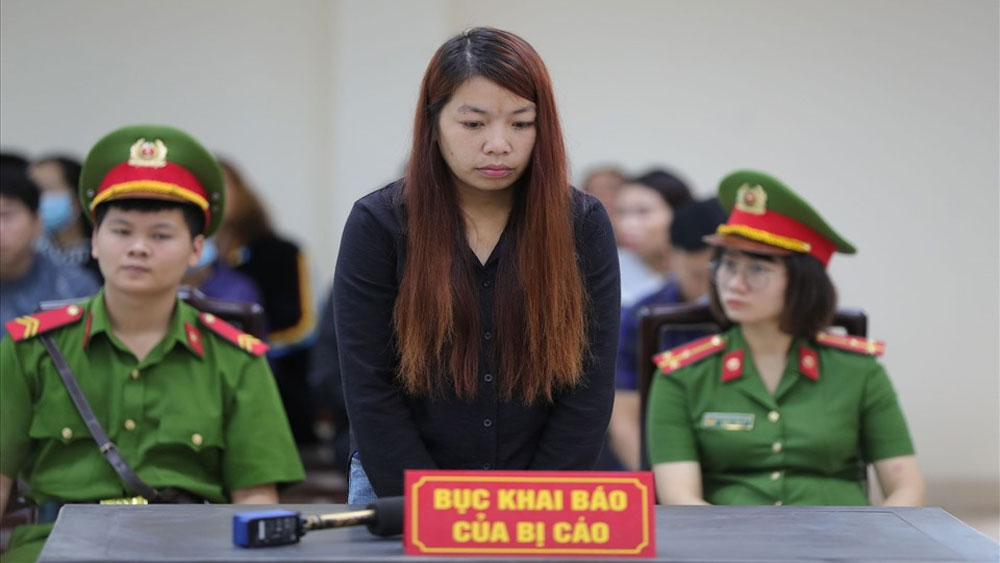 Xét xử, vụ bắt cóc bé trai ở Bắc Ninh, Bị cáo, xin lỗi, gia đình bị hại, Bị cáo Nguyễn Thị Thu