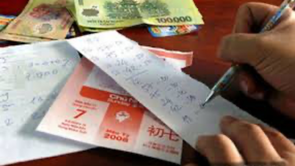 số đề, Bắc Giang, vé số