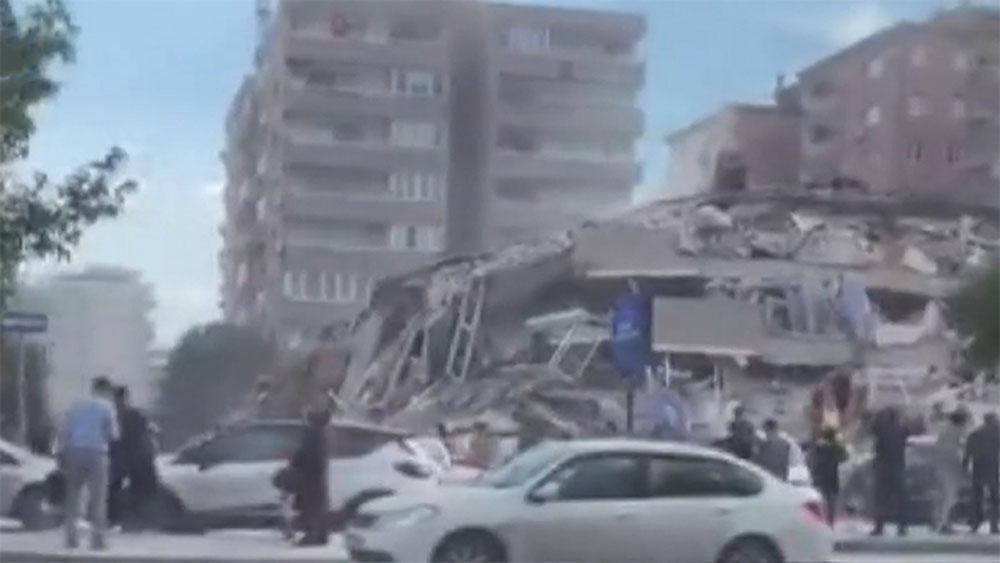 Động đất 7 độ, rung chuyển, Hy Lạp, Thổ Nhĩ Kỳ