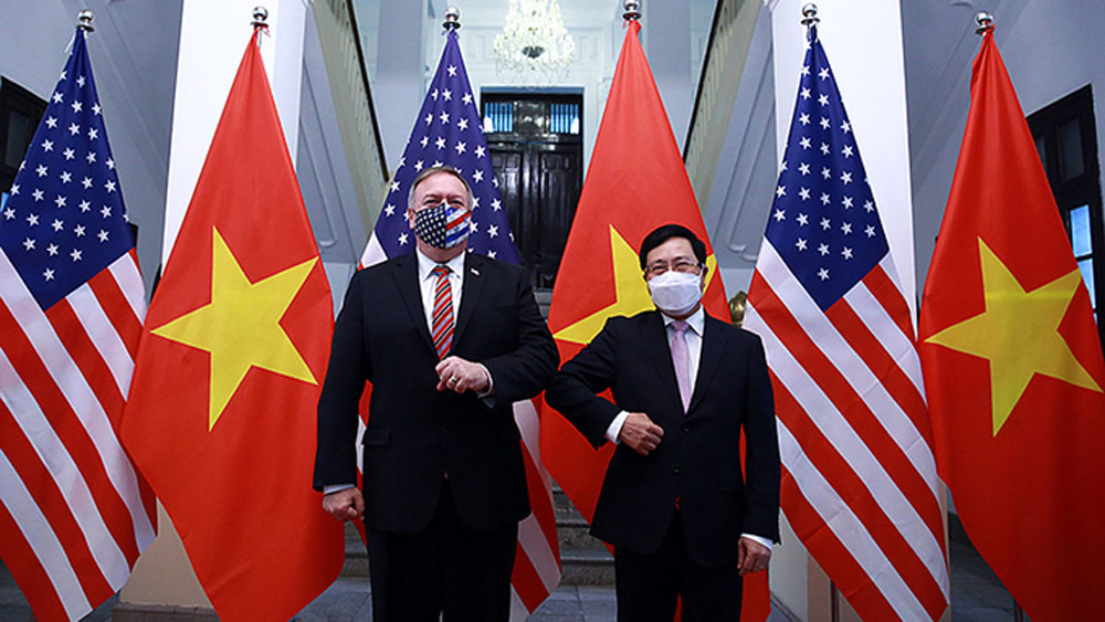 US backs a strong, independent Vietnam