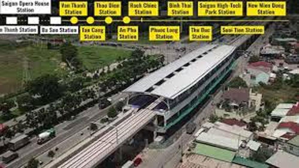 A glimpse into HCMC's 1st metro line