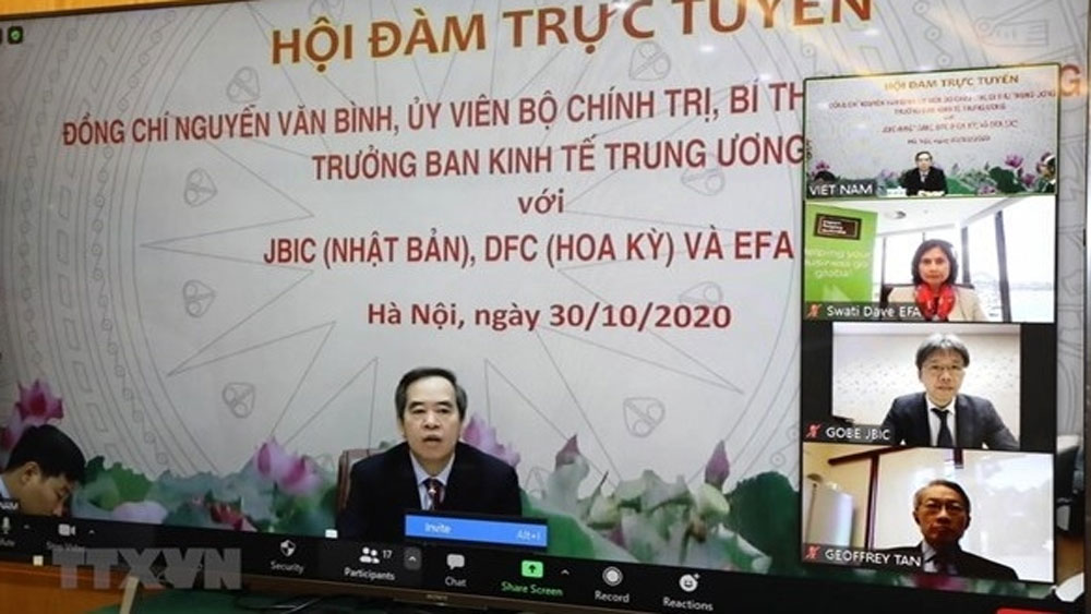 Vietnam, boost economic ties,  Japan, US, Australia, economic cooperation,  important driver, substantial benefits, business and investment environment
