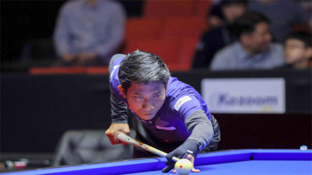 Vietnamese cueist finishes 2nd in thrilling world billiards tournament final