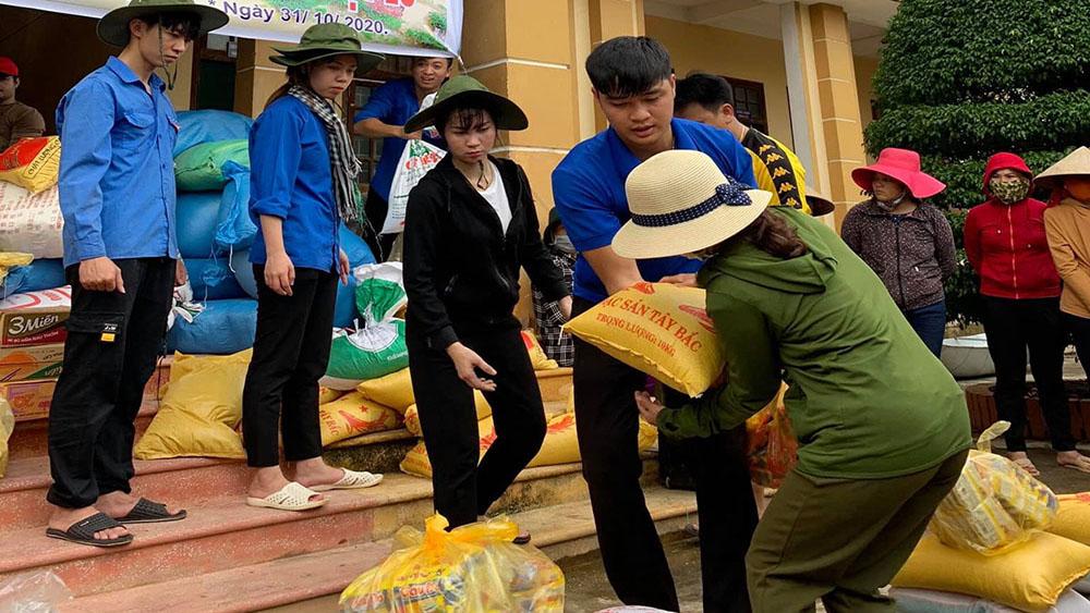 Bắc Giang: Nhiều doanh nghiệp, tổ chức tiếp tục hỗ trợ miền Trung