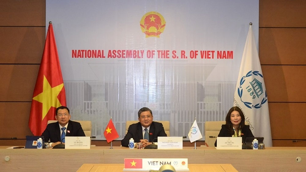 Vietnam attends IPU Governing Council's virtual meeting