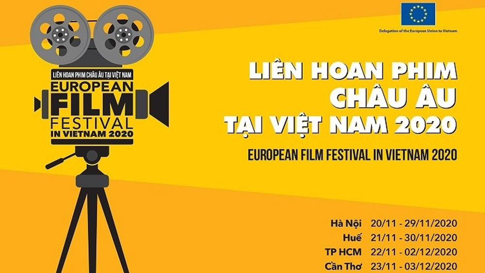 Film festival, Vietnamese cinemagoers, fascinating movies, Europe, cinematic heritage, diverse culture, contemporary creativity, traditional locations