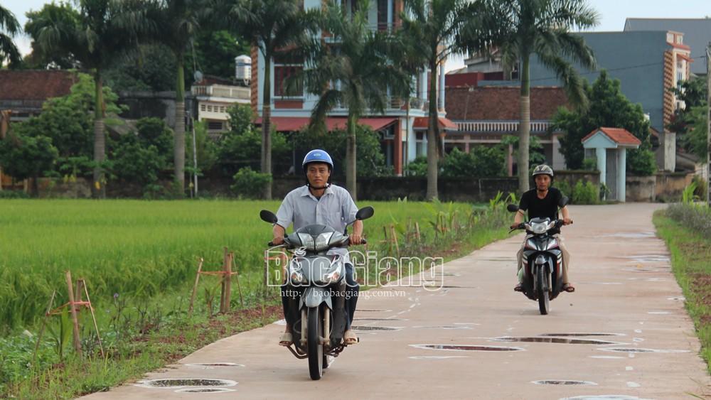 Lạng Giang: 19 thôn hoàn thành xây dựng thôn nông thôn mới kiểu mẫu