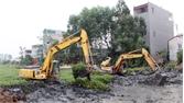 Việt Yên: Cưỡng chế thu hồi đất thực hiện dự án khu dân cư dịch vụ Đại Phúc