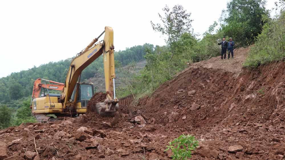 Lục Ngạn khởi công xây dựng Nhà máy xử lý rác thải sinh hoạt