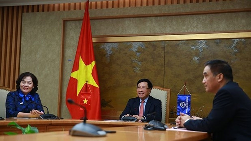 WB, cooperate with Vietnam, different fields, Managing Director of Operations, climate change response, renewable energy development, economic growth