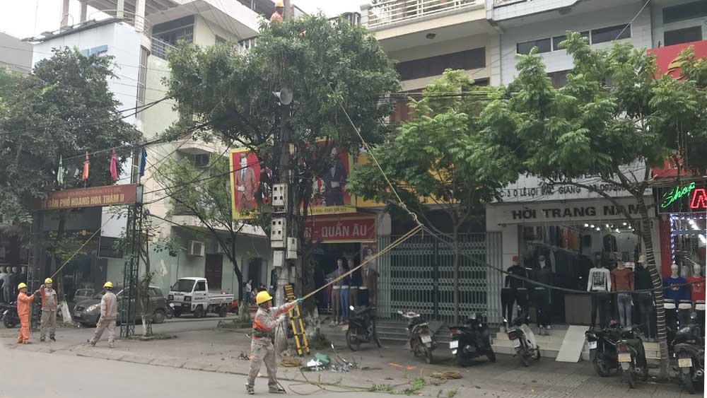 Điện lực TP Bắc Giang: Khắc phục sự cố khiến nhiều hộ dân mất điện