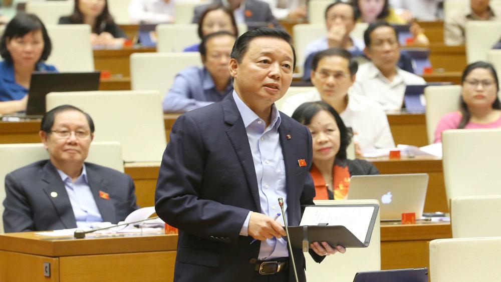 Bộ trưởng Trần Hồng Hà: Sẽ rà soát từng mét đất rừng tự nhiên, phòng hộ, đặc dụng