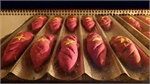 Hanoi bakery makes baguettes that look like Vietnam flag