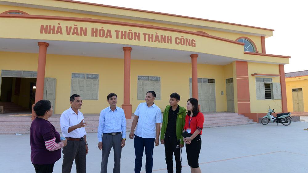 Xã Tiền Phong (Yên Dũng) đạt chuẩn nông thôn mới