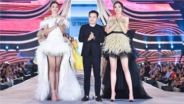 Bốn hoa hậu diễn catwalk ở Vũng Tàu