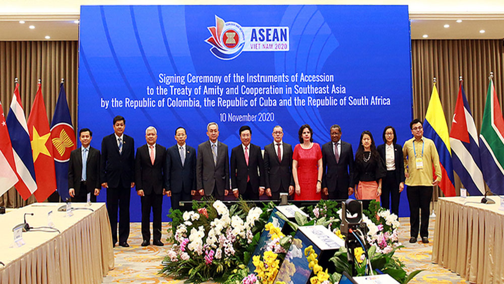 Cuba, Colombia, South Africa become ASEAN partners