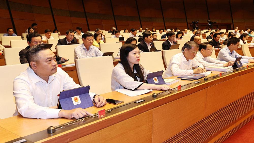Quốc hội biểu quyết thông qua Luật Biên phòng Việt Nam