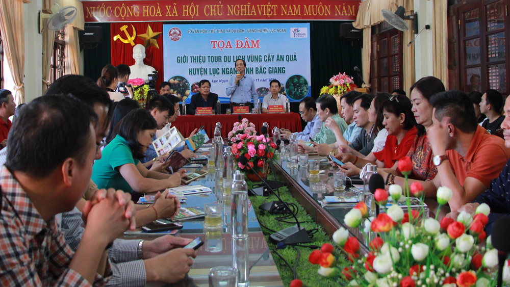 Bac Giang creates suitable tours to Luc Ngan district