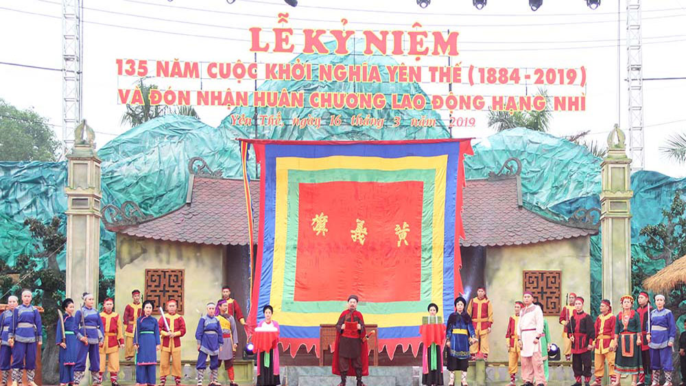 Yen The festival 2021, Bac Giang province, various attractive activities, Hoang Hoa Tham hero, 137 anniversary, Yen The Uprising,