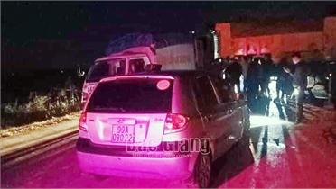 Bắc Giang: Hai ô tô đuổi nhau dẫn tới tai nạn, một người tử vong