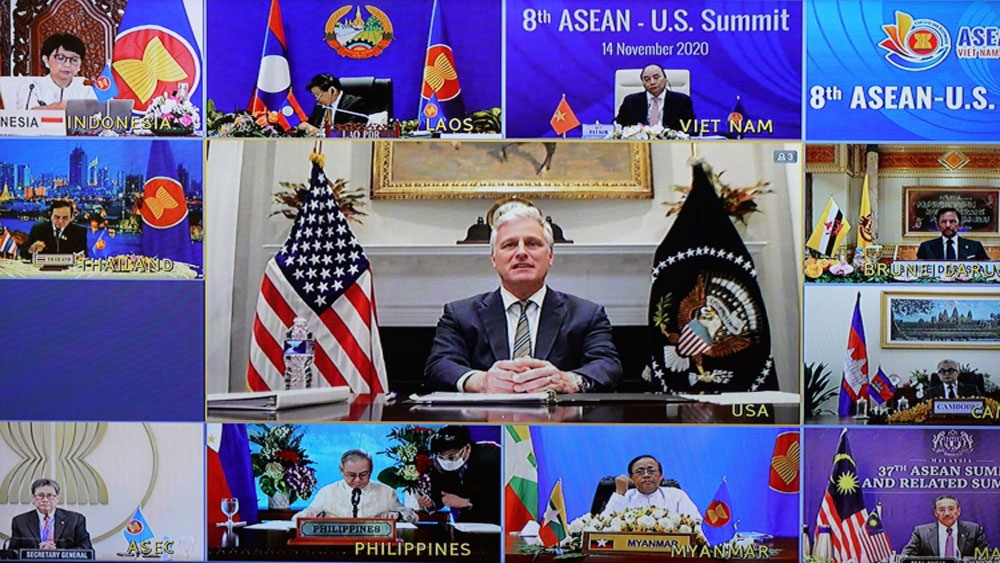 US, ASEAN, rule of law, South China Sea, 8th ASEAN - U.S. Summit, potential risks, international law, regional concern, peaceful and stable environment