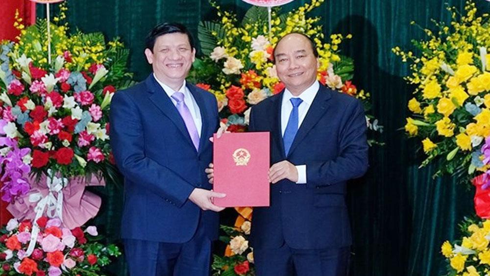 Thủ tướng Chính phủ trao quyết định bổ nhiệm hai Bộ trưởng