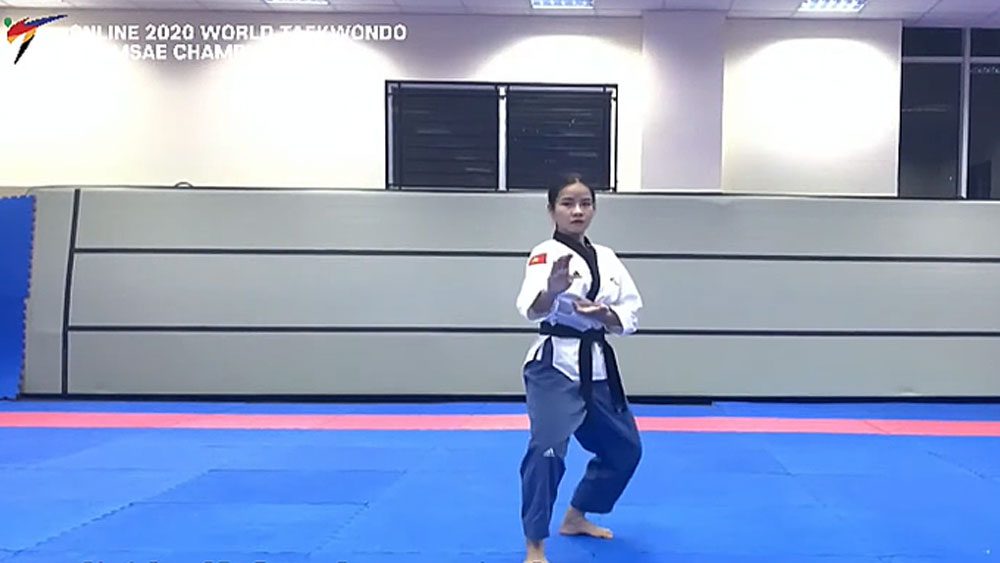 Vietnam wins 6 medals in Asian taekwondo championship held online