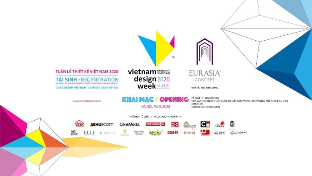 Vietnam Design Week, kicks off, outstanding Vietnamese products, public arts fields, national design industry, talented designers