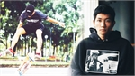 Member of Vietnam's national skateboard team on grinding with purpose