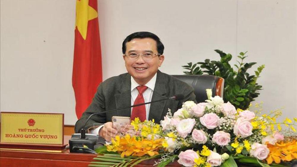 Thứ trưởng Bộ Công Thương Hoàng Quốc Vượng được bổ nhiệm làm Chủ tịch PVN