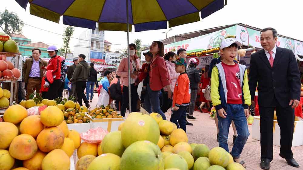 Tăng điểm truy cập wifi miễn phí tại Hội chợ cam, bưởi và các sản phẩm đặc trưng huyện Lục Ngạn