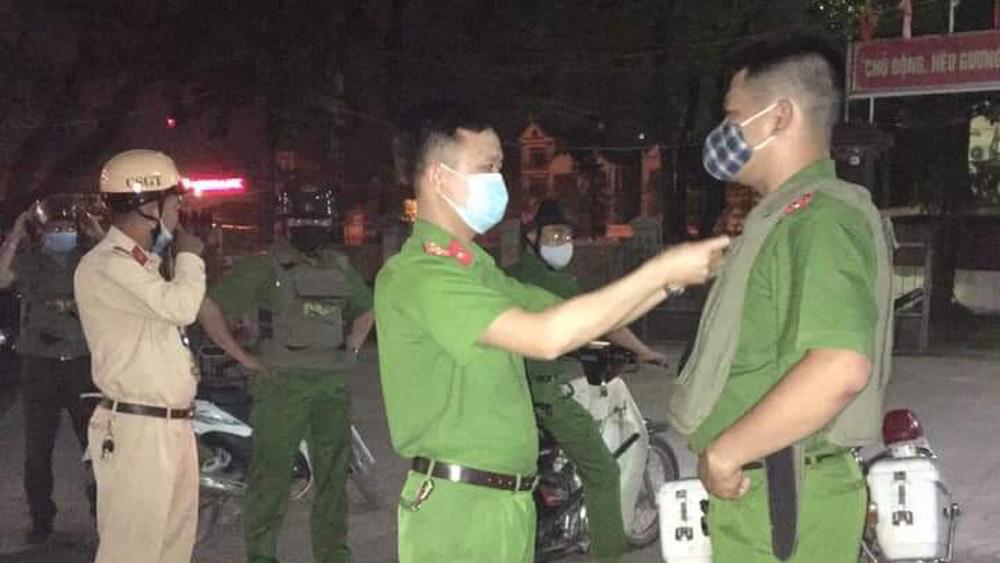 Lục Ngạn, tổ công tác, bảo đảm an ninh trật tự, Hội chợ cam bưởi Lục Ngạn , Công an Bắc Giang