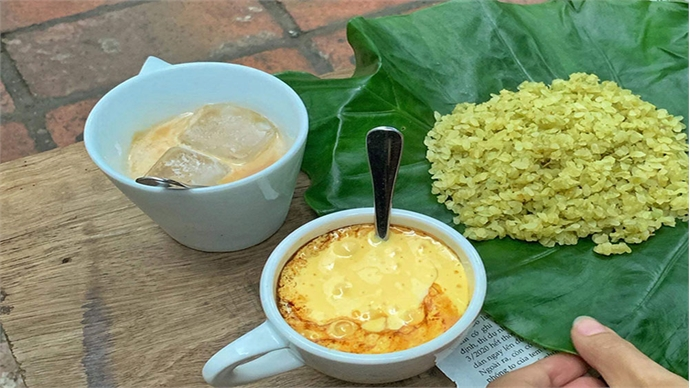Six Hanoi cafes egg you on to sip a signature brew
