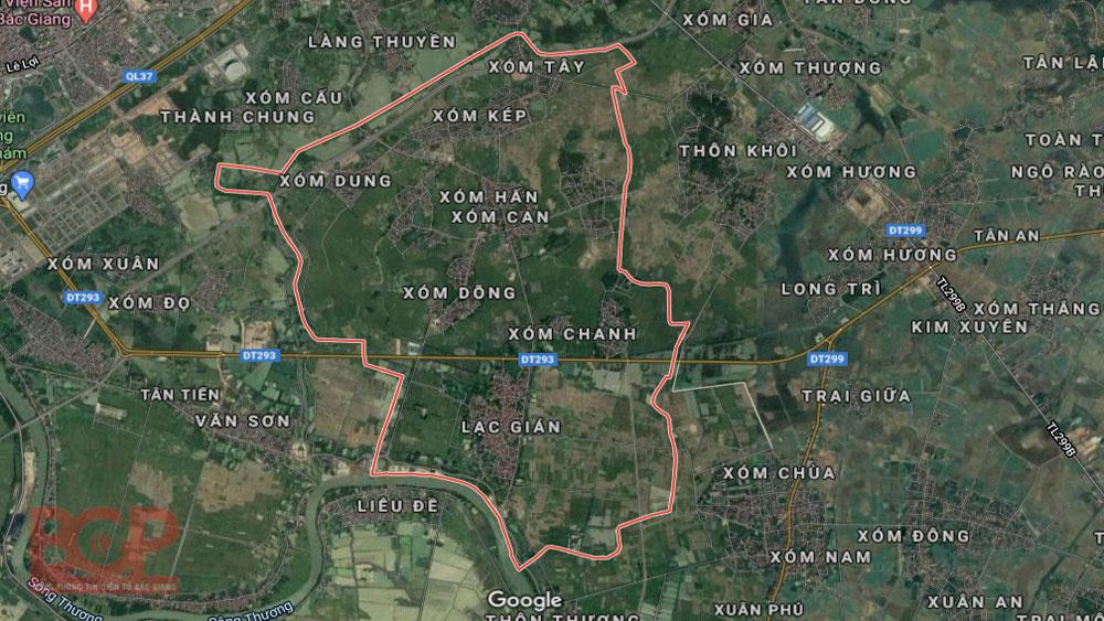Bac Giang approves detail planning project to build new urban area in Huong Gian commune