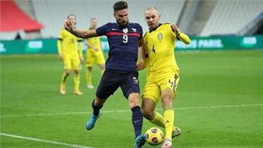 Pháp thắng ngược Thuỵ Điển