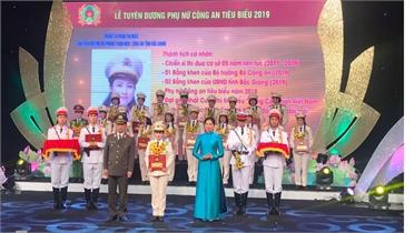 Trung tá Phạm Thị Ngát (Công an Bắc Giang) giành Giải thưởng Phụ nữ Công an tiêu biểu toàn quốc