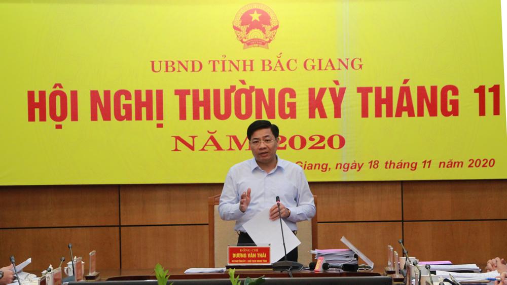 Bí thư Tỉnh ủy, Chủ tịch UBND tỉnh Dương Văn Thái: Tập trung cao hoàn thành quy hoạch tỉnh và các chỉ tiêu KT-XH năm 2020