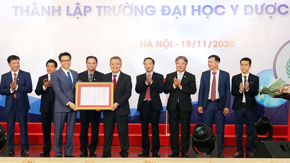 Giám đốc Bệnh viện E làm Hiệu trưởng Trường Đại học Y Dược - Đại học Quốc gia Hà Nội