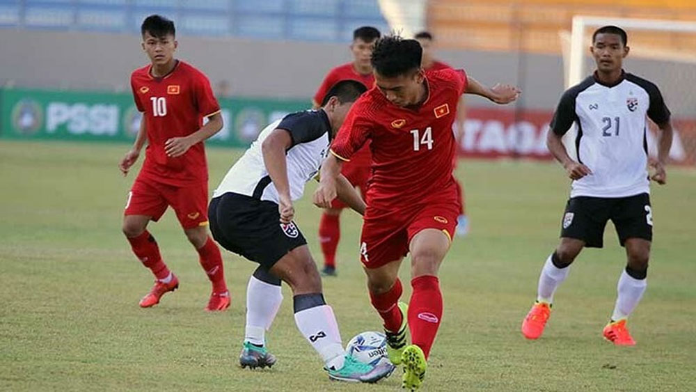 Vietnam, U19 football team, play friendly, Qatar, exhibition match, mid-February, AFC U19 Championship