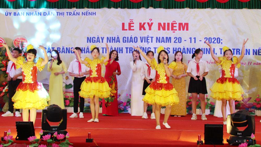 Chúc mừng, 20/11, nhà giáo Việt Nam, lãnh đao tỉnh, Bắc Giang, Việt Yên