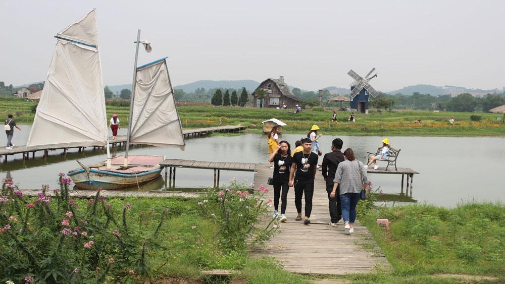 Bac Giang city, creates products, develop tourism, Bac Giang province, tourism development, tourism linkage, development orientation,  tourism destination