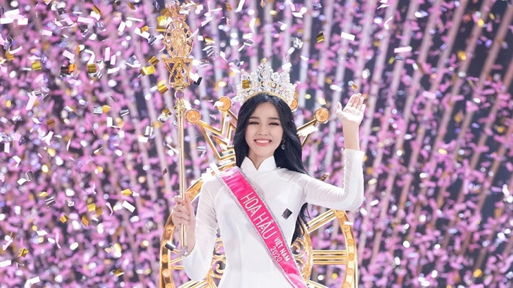 Thanh Hoa student, crowned Miss Vietnam 2020, Do Thi Ha, law student, outstanding votes, A Decade of Beauty